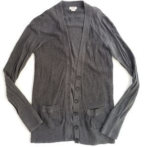 Mossimo Supply Co Womens Cardigan Gray M